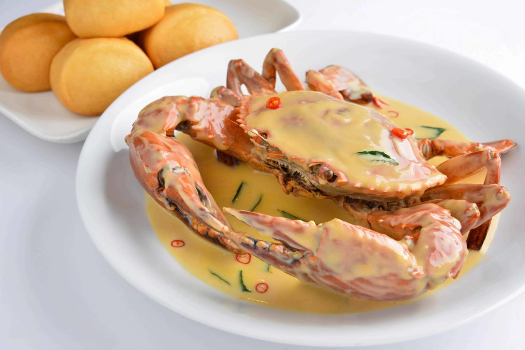 Thai Style Curry Crabs
